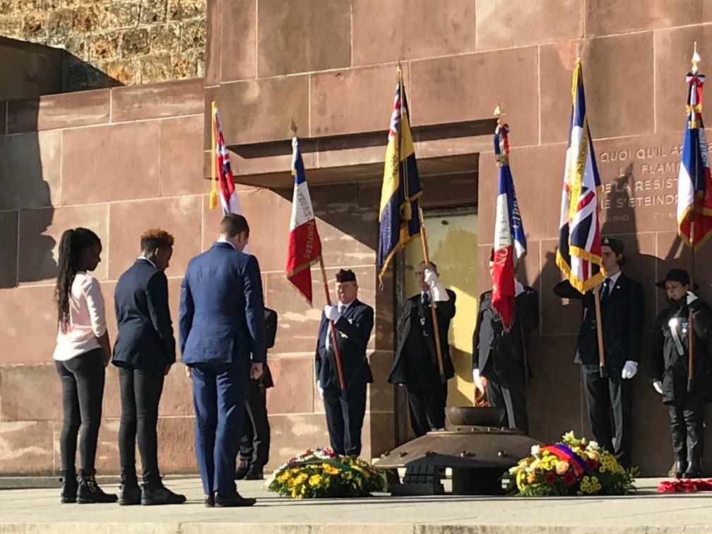 2018/2019 : Hommage aux anciens combattants britanniques